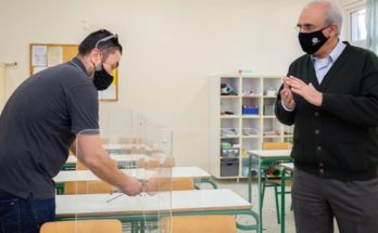 Κηφισιά: Τοποθέτηση προστατευτικών plexiglass σε όλα τα Δημοτικά Σχολεία της πόλης