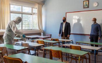 Κηφισιά: Ξεκίνησαν οι απαραίτητες προετοιμασίες από το Δήμο για την επιστροφή των μαθητών στα Γυμνάσια και Λύκεια της πόλης