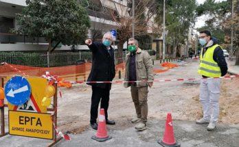 Μαρούσι: Με περισσότερες ασφαλτοστρώσεις και επισκευές οδοστρωμάτων υποδεχόμαστε το 2021