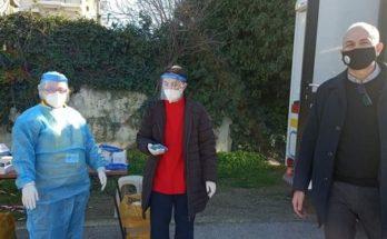 Μεταμόρφωσης Αττικής: Την Τρίτη 19/1 πραγματοποιήθηκε σε συνεργασία(ΕΟΔΥ) η διενέργεια drive through rapid test στο Δήμο