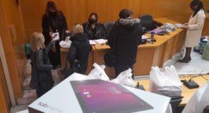 Νέα Ιωνία: Δωρεάν tablet σε μαθητές από τον Δήμο Νέας Ιωνίας για τις ανάγκες της τηλεκπαίδευσης