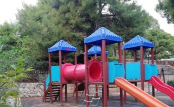 Πεύκη Λυκόβρυση: Παρεμβάσεις στην Παιδική Χαρά του Αγίου Παντελεήμονα