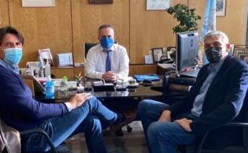 Παπάγου Χολαργός: Συνάντηση Δημάρχου με δυο κορυφαίους αθλητές του ελληνικού μπάσκετ