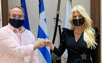 Ελλάδα: Συνάντηση της Προέδρου του Πανελλήνιου Δικτύου SDG 17 Greece Μαρίνα Πατούλη με τον Δήμαρχο Βάρης Βούλας Βουλιαγμένης