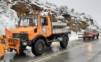 Έπεσε το πρώτο χιόνι για φέτος στην Πεντέλη- Το Μήνυμα της Δήμαρχου