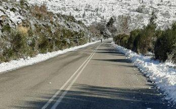 Πεντέλη: Ανοιχτός από το πρωί ο δρόμος Πεντέλη - Αγίου Πέτρου
