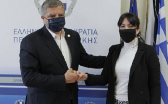 Περιφέρεια Αττικής: Συνάντηση του Περιφερειάρχη Αττικής Γ. Πατούλη με τη Δήμαρχο Πεντέλης Δ. Κεχαγιά