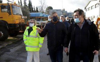 Περιφέρεια Αττικής: Σε πλήρη κινητοποίηση τέθηκε όλος ο μηχανισμός Πολιτικής Προστασίας
