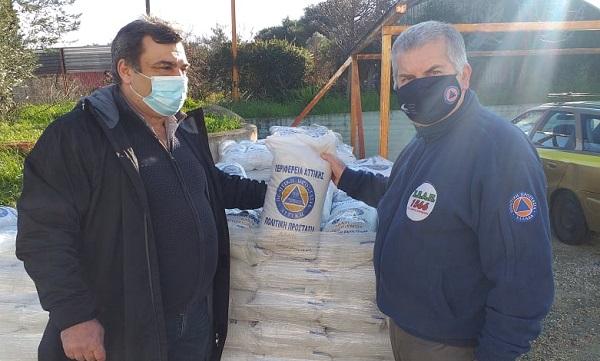 ΣΠΑΠ : Η Περιφέρεια Αττικής προμήθευσε τον ΣΠΑΠ και τους Δήμους με αλάτι για την αντιμετώπιση της πιθανής επερχόμενης χιονόπτωσης