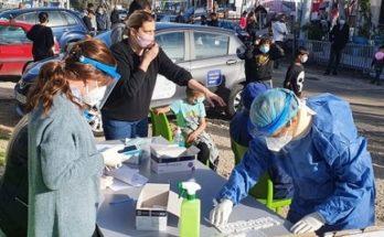 Χαλάνδρι: Διενέργεια δεκάδων τεστ ανίχνευσης Covid-19 στον καταυλισμό Ρομάστο Νομισματοκοπείο