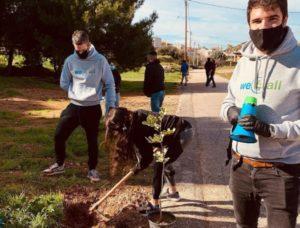 Αγία Παρασκευή: Η Ομάδα Εθελοντών Νεολαίας δίνει το παράδειγμα