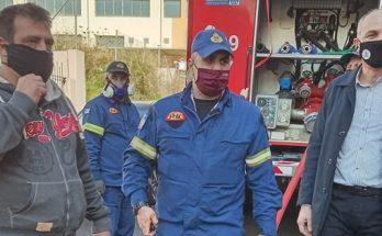 Μεταμόρφωση : Έσβησε η φωτιά σε υπόγειο κτιρίου στη συμβολή των οδών Γκιώνας και Ποσειδώνος
