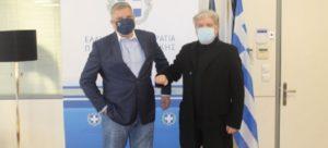 Περιφέρεια Αττικής: Συνάντηση Περιφερειάρχη Αττικής Γ. Πατούλη με τον Δήμαρχο Ν.Φιλαδέλφειας Ν.Χαλκηδόνας Γ. Βούρο