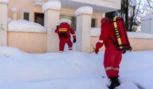 Ελληνικός Ερυθρός Σταυρός «Προσέφερε πρώτες βοήθειες και είδη πρώτης ανάγκης σε κατοίκους που παραμένουν αποκλεισμένοι»