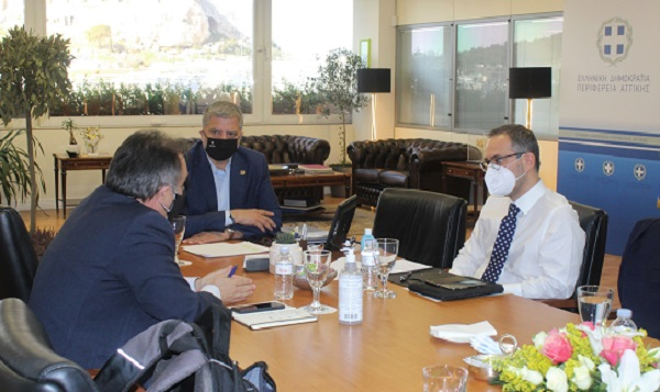 Περιφέρεια Αττικής : Συνάντηση του Περιφερειάρχη Αττικής Γ. Πατούλη με τον Διευθύνοντα Σύμβουλο του ΔΕΔΔΗΕ Α. Μάνο