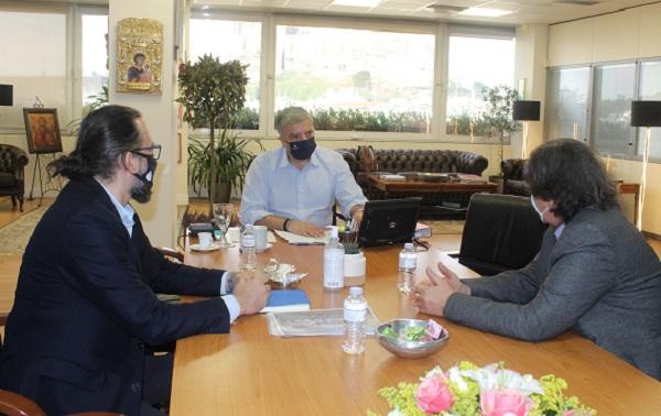 Περιφέρεια Αττικής : Συνάντηση του Περιφερειάρχη Αττικής Γ. Πατούλη με τον Πρόεδρο της Ελληνικής Παραολυμπιακής Επιτροπής Χ. Καλούδη