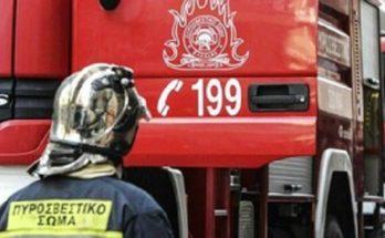 Μεταμόρφωση : Φωτιά σε υπόγειο κτιρίου στη συμβολή των οδών Γκιώνας και Ποσειδώνος