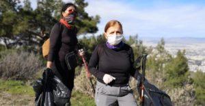 «Η Περιπατητική Ομάδα Υμηττού και η Ελληνική Ένωση Ορεινής Ποδηλασίας και ο ΣΠΑΥ καθάρισαν το δάσος της Καισαριανής»