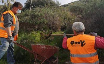 ΣΠΑΥ : Ολοκληρώθηκε ο καθαρισμός των φρεατίων και αγωγών περιμετρικά όλου του Υμηττού