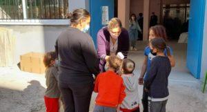 Χαλάνδρι: Εμβολιασμός παιδιών Ρομά στο Κέντρο Νεότητας του Δήμου