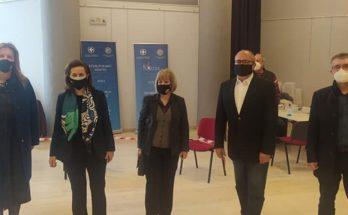 Ηράκλειο Αττικής: Δράση δωρεάν εξετάσεων rapid covid test για τους κατοίκους της πόλης πραγματοποιήθηκε σήμερα στο Δήμο