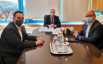 Ηράκλειο Αττικής : Με τον γενικό γραμματέα του Υπουργείου Υποδομών συναντήθηκε ο Δήμαρχος