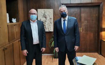 Ηράκλειο Αττικής: Τον Υπουργό Εσωτερικών συνάντησε ο Δήμαρχος για θέματα του Δήμου
