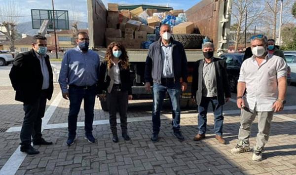 Μαρούσι: Παραδόθηκε η υλική βοήθεια των Μαρουσιωτών στους σεισμόπληχτους συμπολίτες του Τυρνάβου