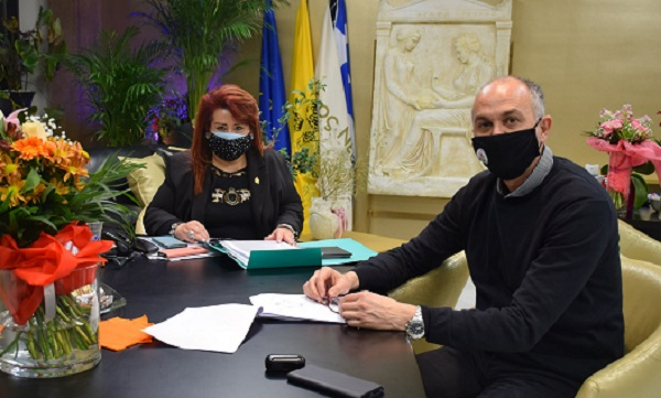 Νέας Ιωνία: Συνάντηση συνεργασίας της Δημάρχου Νέας Ιωνίας με τον Δήμαρχο Μεταμόρφωσης