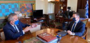 Παπάγου Χολαργός: Συνάντηση του Δημάρχου με τον Αναπληρωτή Υπουργό Εσωτερικών