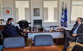 Λυκόβρυση Πεύκη: Τον βουλευτή του Βορείου Τομέα Γιώργο Κουμουτσάκο συνάντησε ο Δήμαρχος