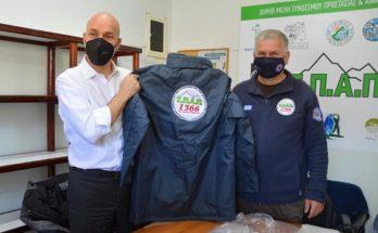 ΣΠΑΠ : Ο Υφυπουργός Προστασίας Περιβάλλοντος Γιώργος Αμυράς επισκέφτηκε το Κέντρο Επιχειρήσεων του ΣΠΑΠ και τα πρώην Λατομεία Μουζάκη.