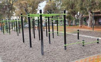 Χαλάνδρι: Ολοκληρώθηκε η κατασκευή του καλλισθενικού πάρκου γυμναστικής στον Συνοικισμό