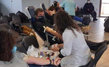 Χαλάνδρι: Οι εθελοντές αιμοδότες έστειλαν το μήνυμα: «Δίνουνε αίμα - Νικάμε το φόβο»