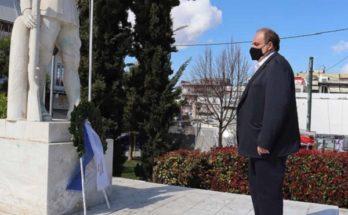 Χαλάνδρι: Γιορτάστηκε σήμερα η Εθνική Επέτειο της 25ης Μαρτίου και τα 200 χρόνια από την κήρυξη της Επανάστασης του 1821 στο Δήμο