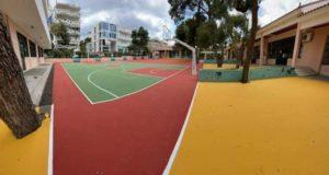 Αγία Παρασκευή: Επισκευή των αθλητικών γηπέδων του 1ου και 8ου δημοτικού σχολείου