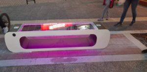 Αγία Παρασκευή: 2 smart ηλιακά παγκάκια τοποθετήθηκαν στον πεζόδρομο της κεντρικής πλατείας