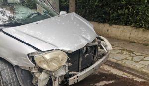 Βριλήσσια: Τροχαίο ατύχημα στην οδό Σαλαμίνος και Μπακογιάννη