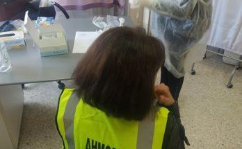 Βριλήσσια: Διενέργεια covid-19 test στους Δημοτικούς Σχολικούς Φύλακες