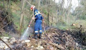 Διόνυσος: Πυρκαγιά στην Δημοτική κοινότητα του Αγίου Στεφάνου επί της Λ. Τραπεζούντος