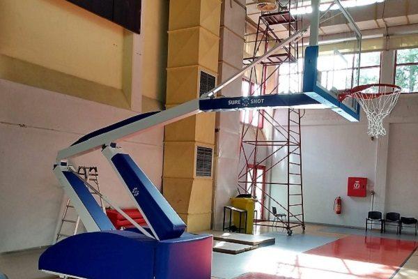 Ηράκλειο Αττικής: Νέες μπασκέτες στο Κλειστό Γυμναστήριο «Ολυμπιονίκης Χαρά Καρυάμη»