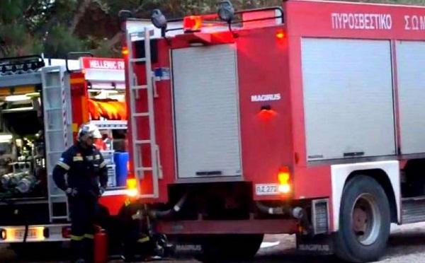 Καισαριανή: Το πρωί της Παρασκευής ξέσπασε πυρκαγιά σε κτίριο εντός του άλσους