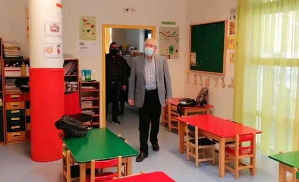 Μαρούσι: Ο Δήμαρχος Αμαρουσίου πραγματοποίησε Επιθεώρηση στους παιδικούς σταθμούς Πολυδρόσου, Σωρού και Κοκκινιάς όπου εκτελέστηκαν εργασίες ανακαίνισης