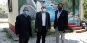Μαρούσι : Αυτοψία του Δημάρχου σε έργα στην περιοχή του Αγίου Θωμά