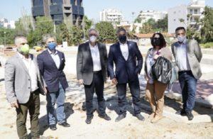 Μαρούσι: Αυτοψία του Δημάρχου Αμαρουσίου με τον Περιφερειάρχη Αττικής σε έργα που βρίσκονται στο στάδιο ολοκλήρωσης στη πόλη