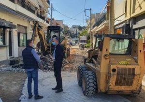 Μεταμόρφωση: Αναδιαμόρφωση των πεζοδρομίων στην Πλατεία Ηρώων Πολυτεχνείου
