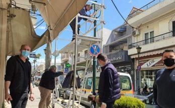 Μεταμόρφωση : Ολοκληρώνεται η τοποθέτηση φωτισμού LED σε κεντρικά σημεία και πλατείες της πόλης