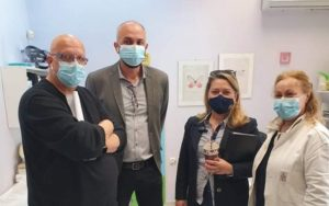 Μεταμόρφωση: Η Τοπική Μονάδα Υγείας (Το.Μ.Υ) της πόλης πήρε την άδεια να λειτουργήσει ως εμβολιαστικό κέντρο
