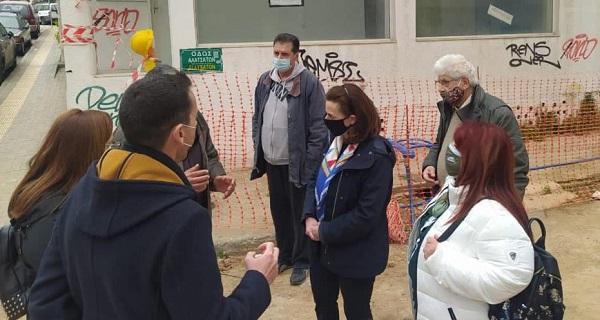Περιφέρεια Αττικής : Αυτοψία της Δημάρχου και της αντιπεριφερειάρχη ΠΕΒΤΑ στα εργοτάξια ων υπό εκτέλεση έργων που χρηματοδοτεί η Περιφέρεια εργοτάξια