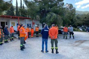 Παπάγου Χολαργός: Ο Δήμαρχος επισπεύτηκε τους εθελοντές της Δασοπροστασίας για την προετοιμασία της αντιπυρικής περιόδου που είναι μπροστά μας
